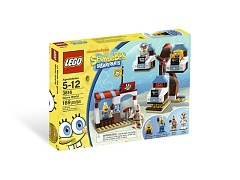 Конструктор LEGO (ЛЕГО) SpongeBob SquarePants 3816  Glove World