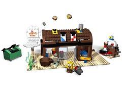 Конструктор LEGO (ЛЕГО) SpongeBob SquarePants 3825  Krusty Krab