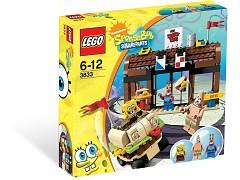 Конструктор LEGO (ЛЕГО) SpongeBob SquarePants 3833  Krusty Krab Adventures