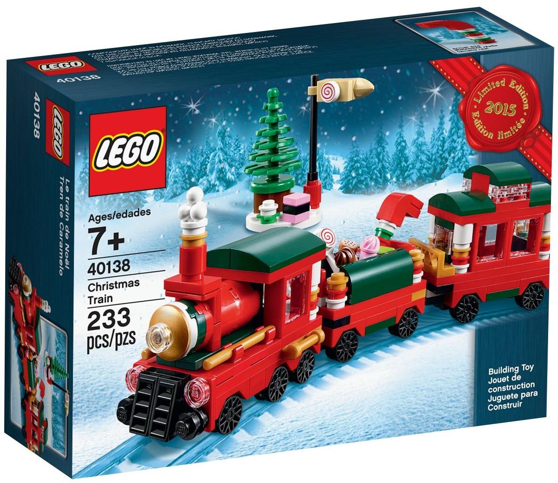 Free Christmas train at shop.LEGO.com | Brickset: LEGO set guide ...