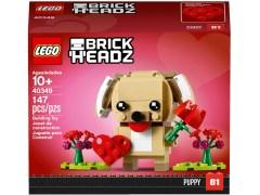 Конструктор LEGO (ЛЕГО) BrickHeadz 40349  Valentine's Puppy