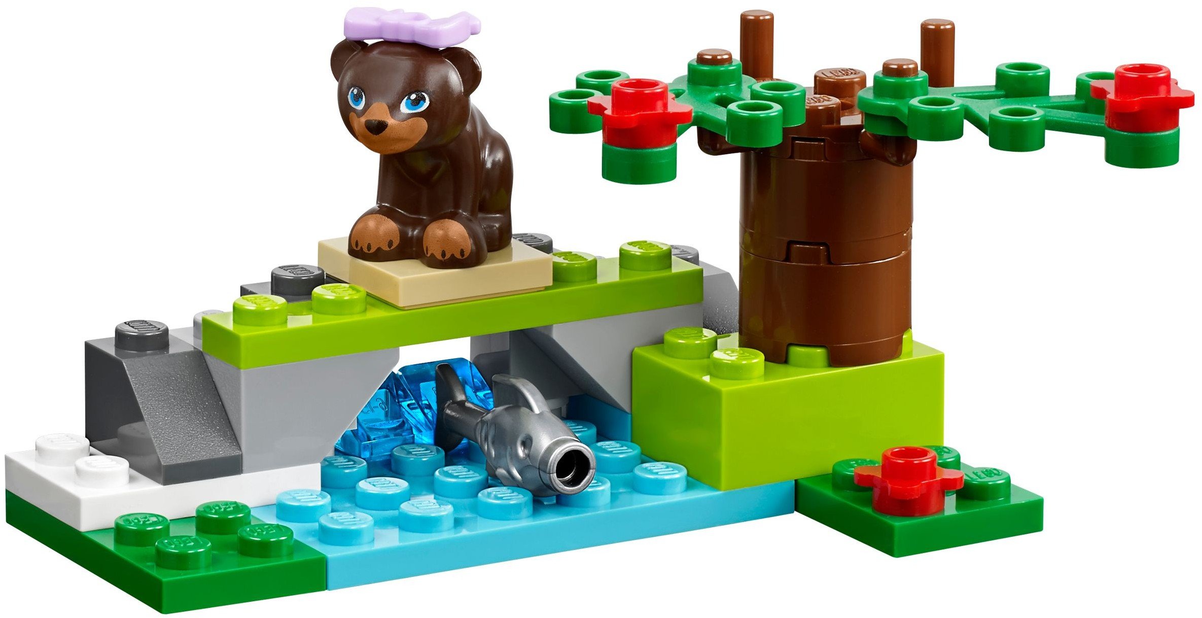 how to build a lego house for the animals