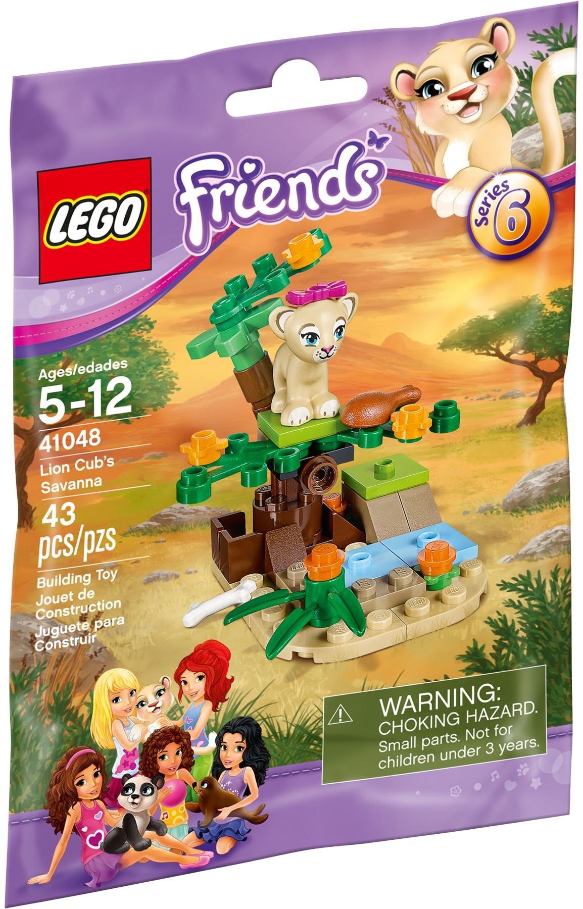Lego 41048 Lion Cub's Savanna