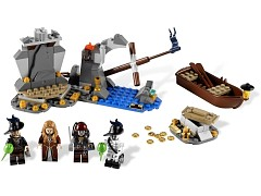 Конструктор LEGO (ЛЕГО) Pirates of the Caribbean 4181 Исла-де-Муэрте Isla de la Muerta
