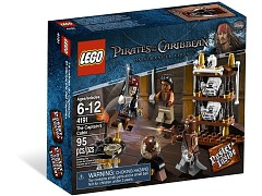 Конструктор LEGO (ЛЕГО) Pirates of the Caribbean 4191 Каюта капитана Captain's Cabin