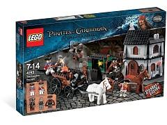 Конструктор LEGO (ЛЕГО) Pirates of the Caribbean 4193 Побег из Лондона The London Escape