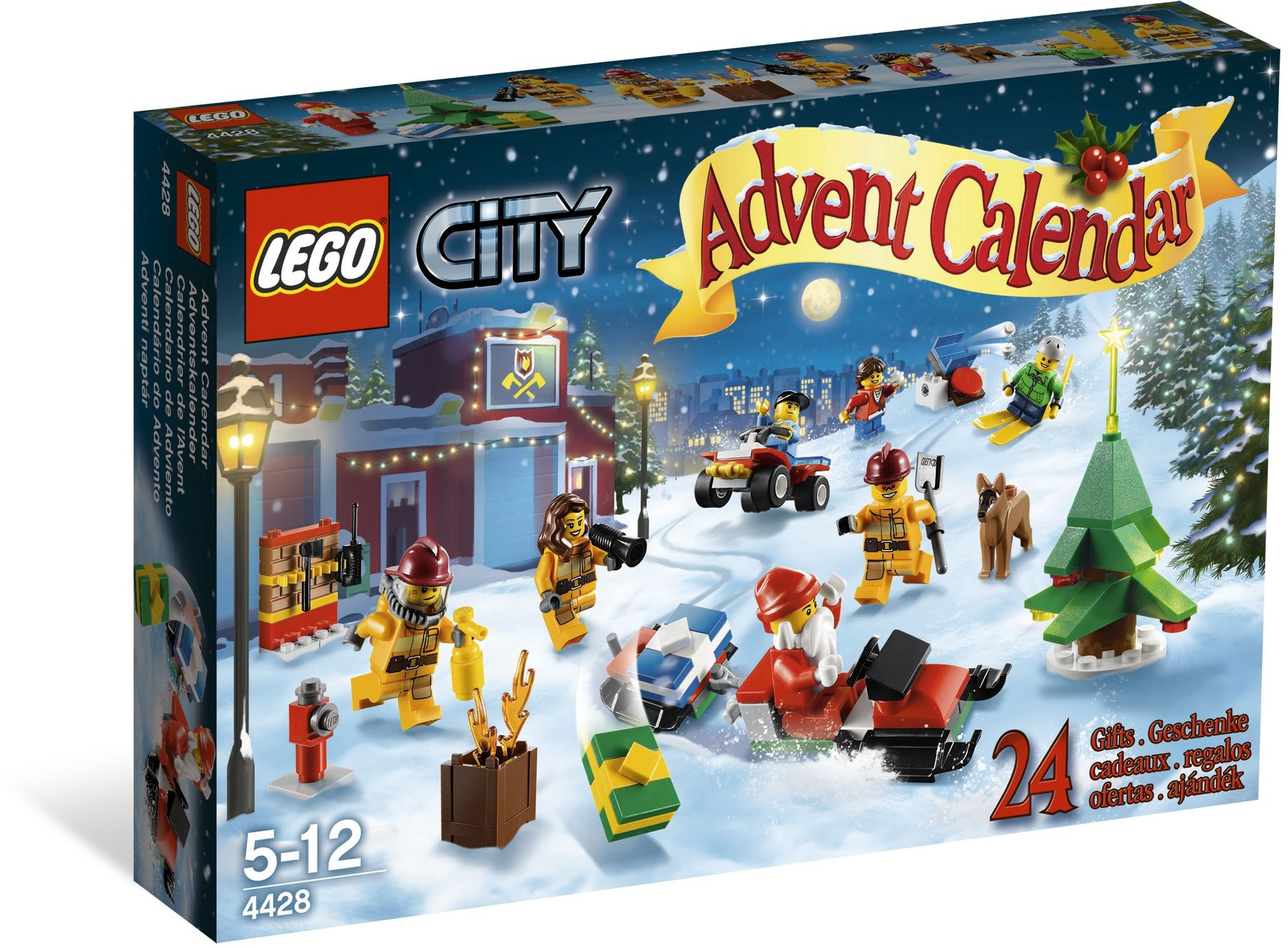 lego 4428 city advent calendar. Black Bedroom Furniture Sets. Home Design Ideas