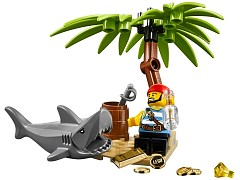 Конструктор LEGO (ЛЕГО) Pirates 5003082 Классический пират Classic Pirate Minifigure