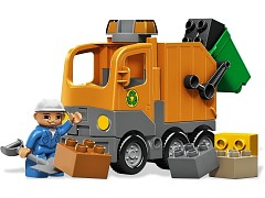 Lego 5637 Garbage Truck additional image 12