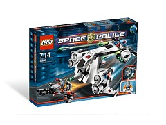 Конструктор LEGO (ЛЕГО) Space 5983  Undercover Cruiser