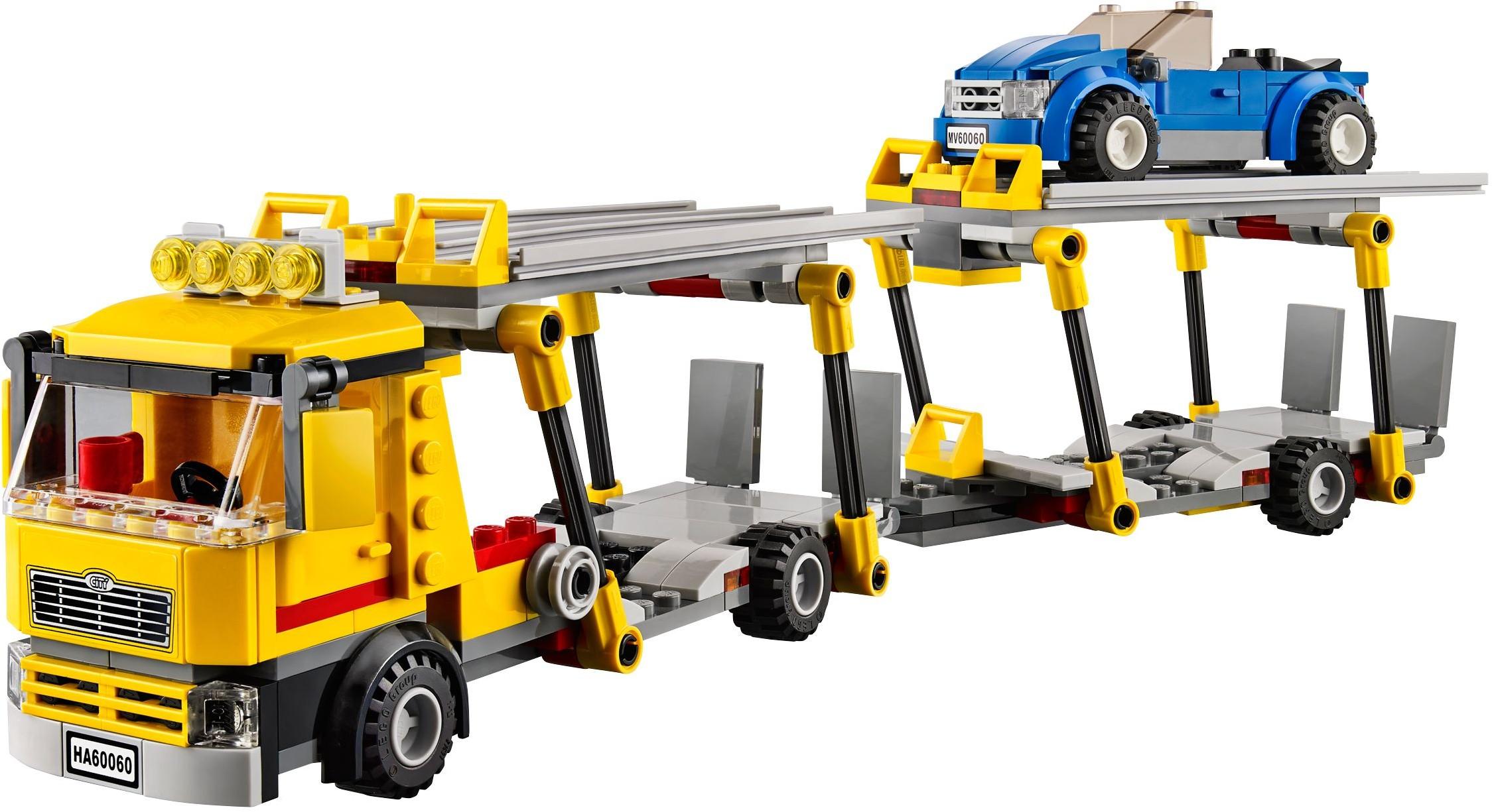 lego city auto transporter 60060 instructions