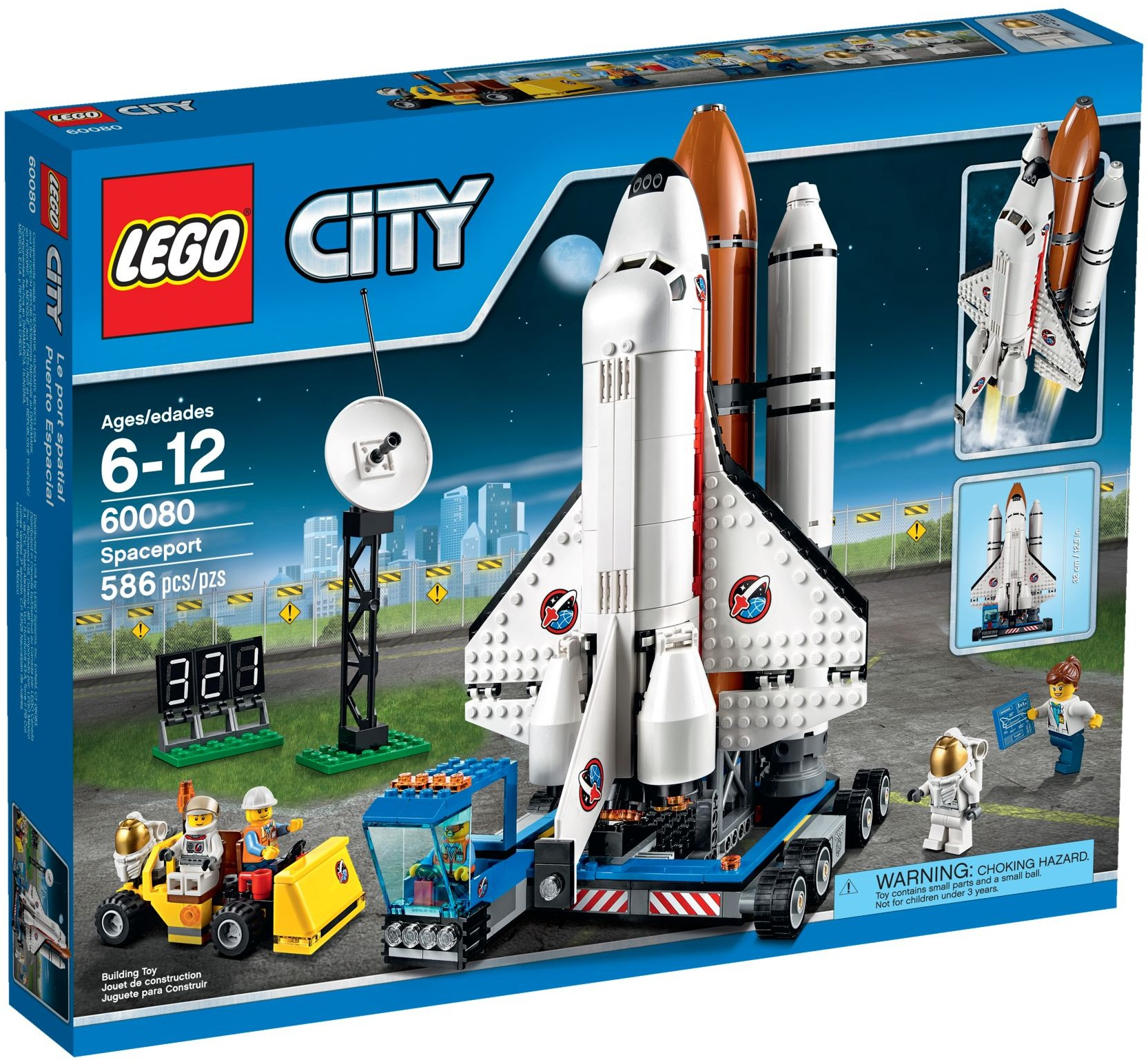 Review 60080 Spaceport Brickset Lego Set Guide And Database