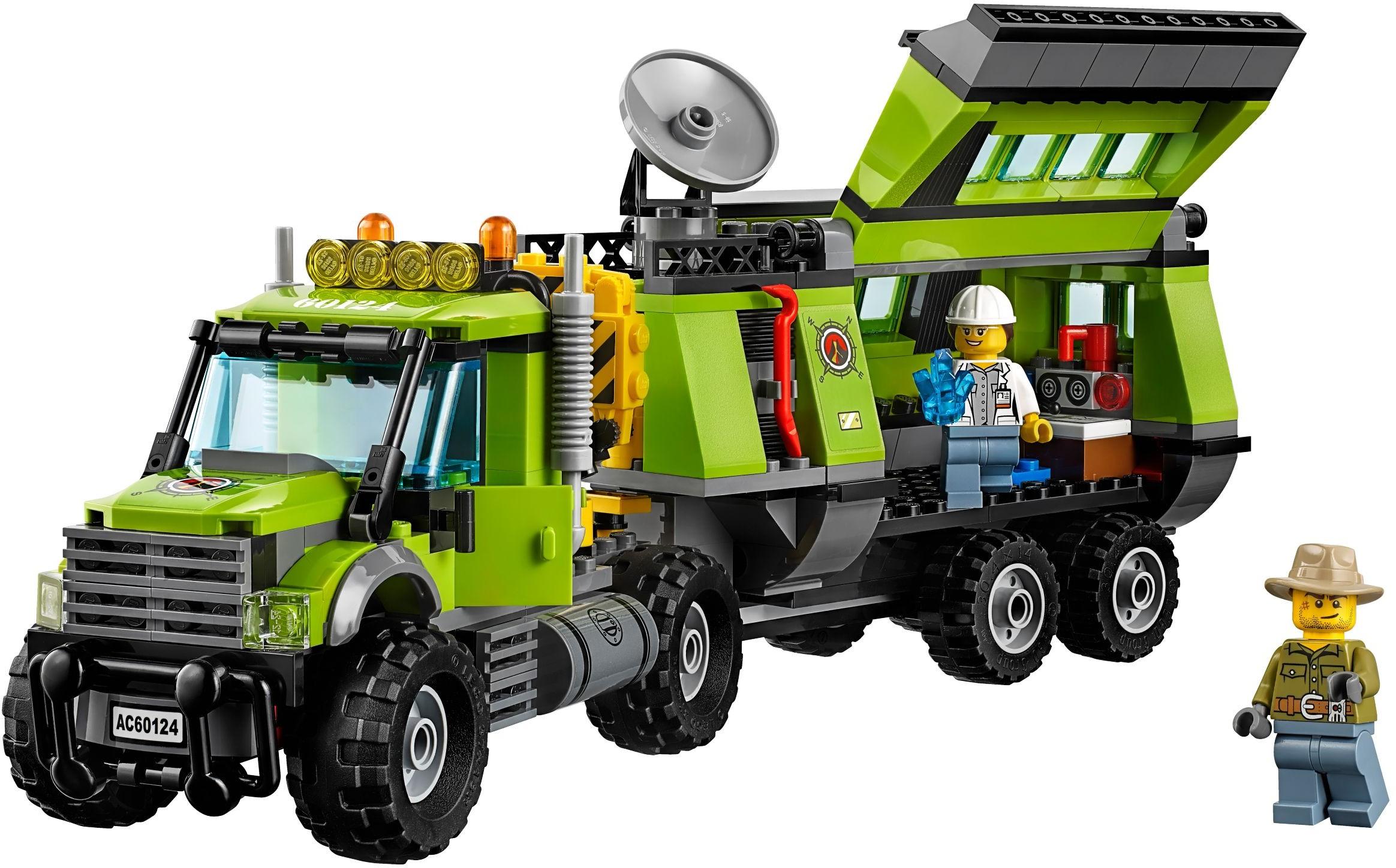 Lego Base Lego 60124 Base Exploration 60124 Volcano Volcano Exploration W9EHD2IY