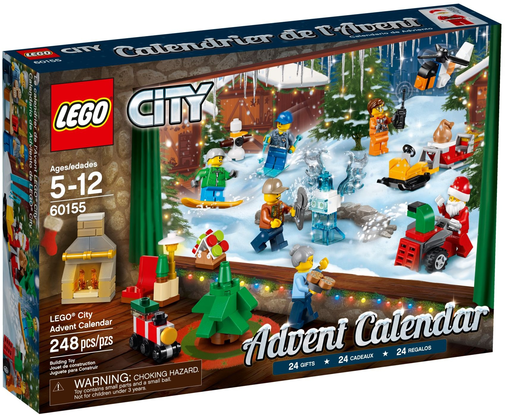 60155 City Advent Calendar