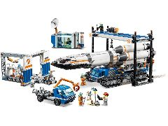 Конструктор LEGO (ЛЕГО) City 60229   Rocket Assembly &Transport