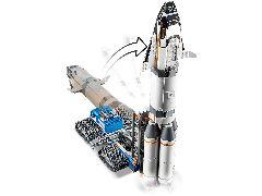 Конструктор LEGO (ЛЕГО) City 60229   Rocket Assembly &Transport