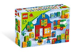 Lego 6051 Play with Letters Set additional image 3