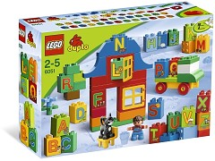 Lego 6051 Play with Letters Set additional image 8