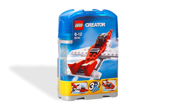 how to make a mini lego jet