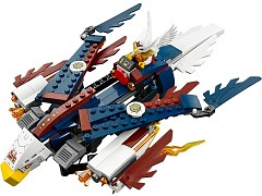 Lego 70142 Eris' Fire Eagle Flyer additional image 4