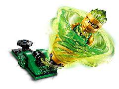 Конструктор LEGO (ЛЕГО) Ninjago 70681 Бой мастеров кружитцу — Ллойд Spinjitzu Slam - Lloyd