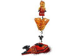 Конструктор LEGO (ЛЕГО) Ninjago 70684 Бой мастеров кружитцу — Кай против Самурая Spinjitzu Slam - Kai vs. Samurai