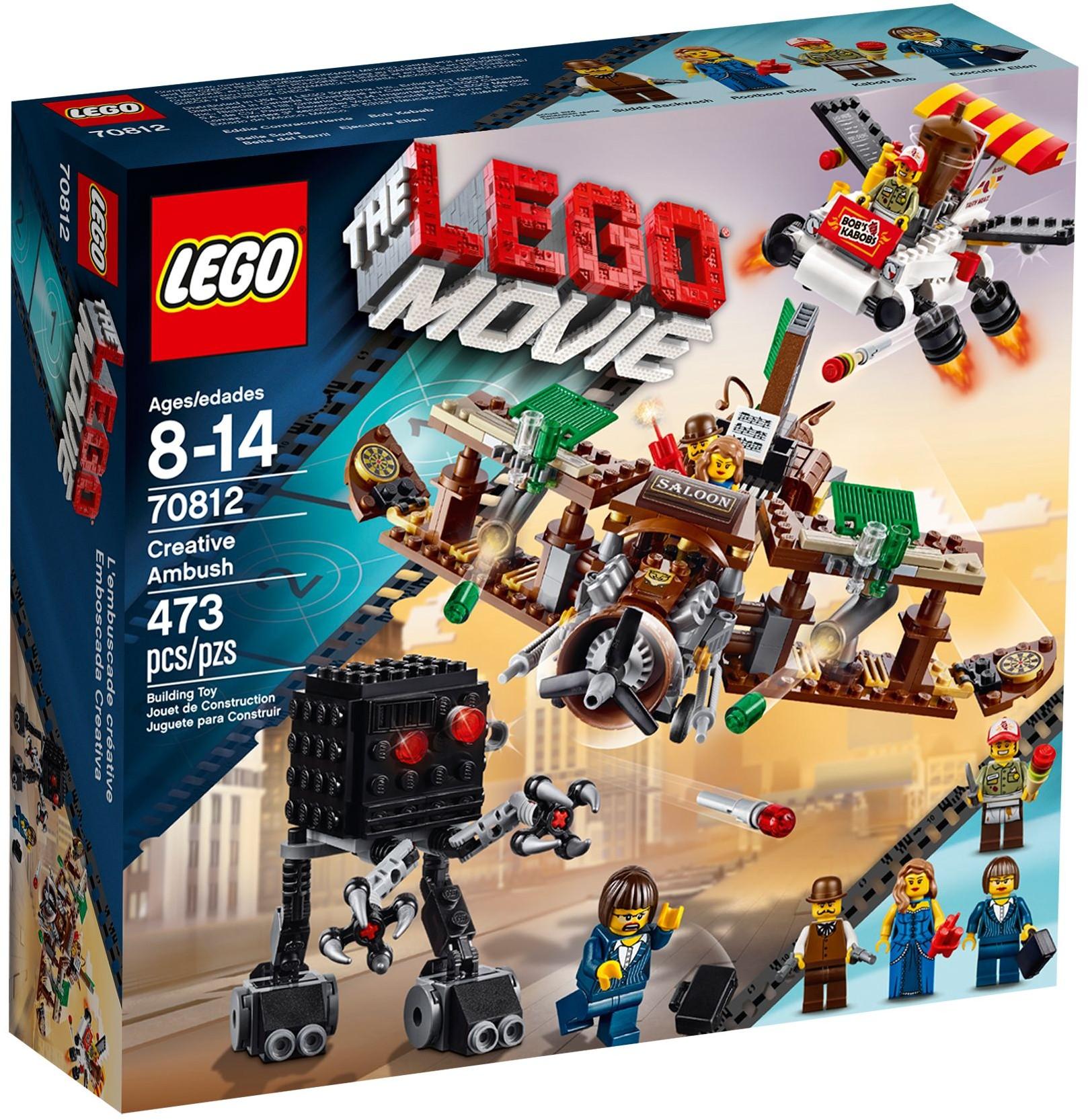 LEGO The LEGO Movie 70812 Creative Ambush review   Brickset