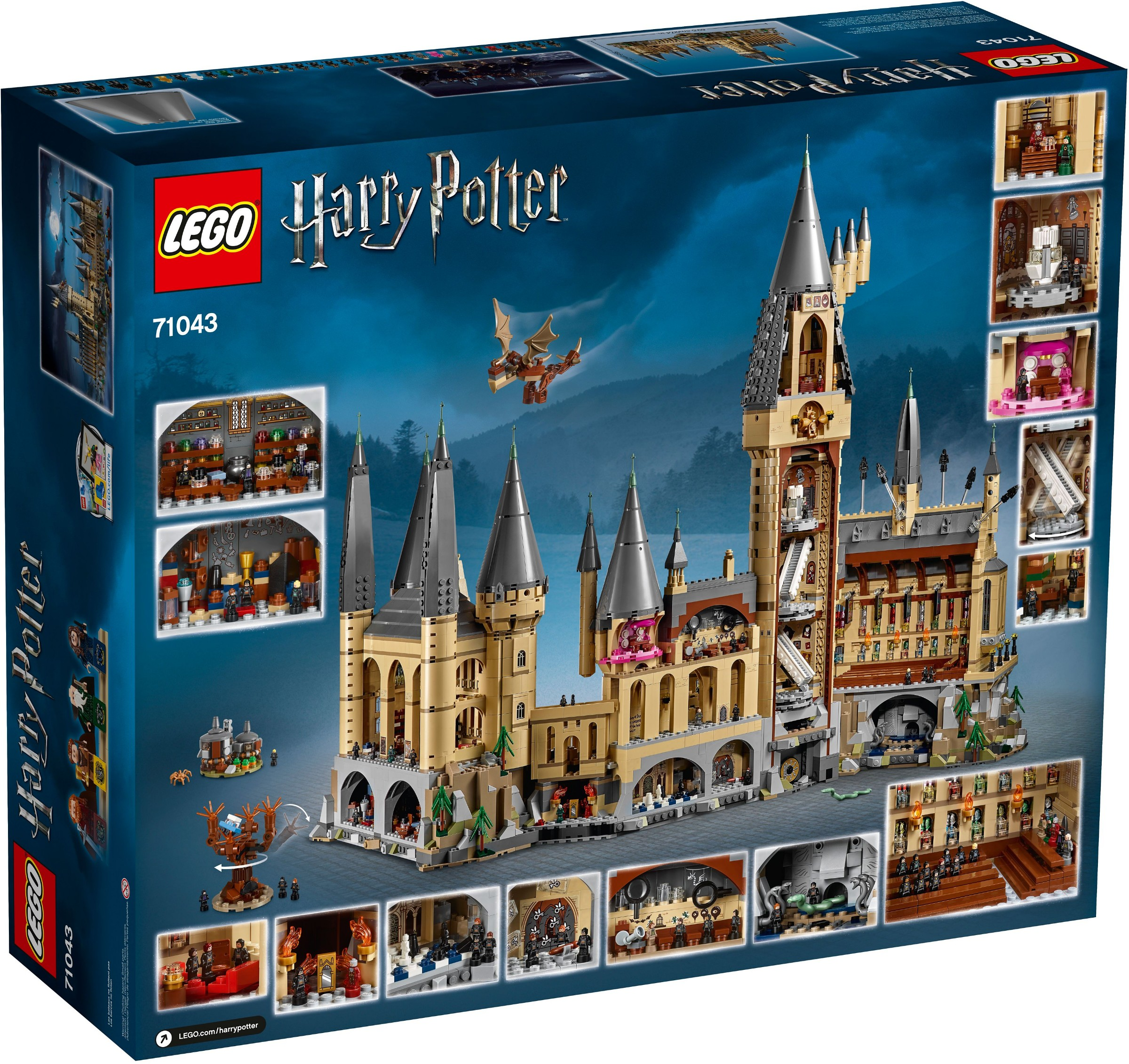 LEGO® Harry Potter™ Set of 3 Microfigs Ron /& Hermione Harry