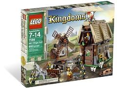 Конструктор LEGO (ЛЕГО) Castle 7189  Mill Village Raid