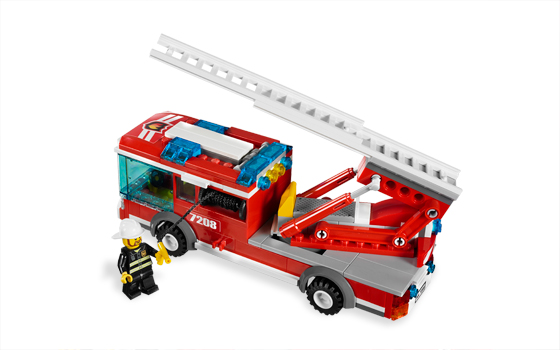 Lego 7208 Fire Station