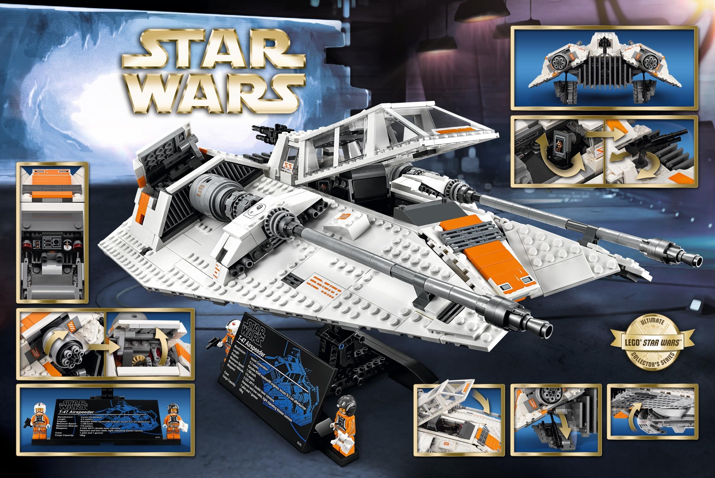 Review  75144 Snowspeeder