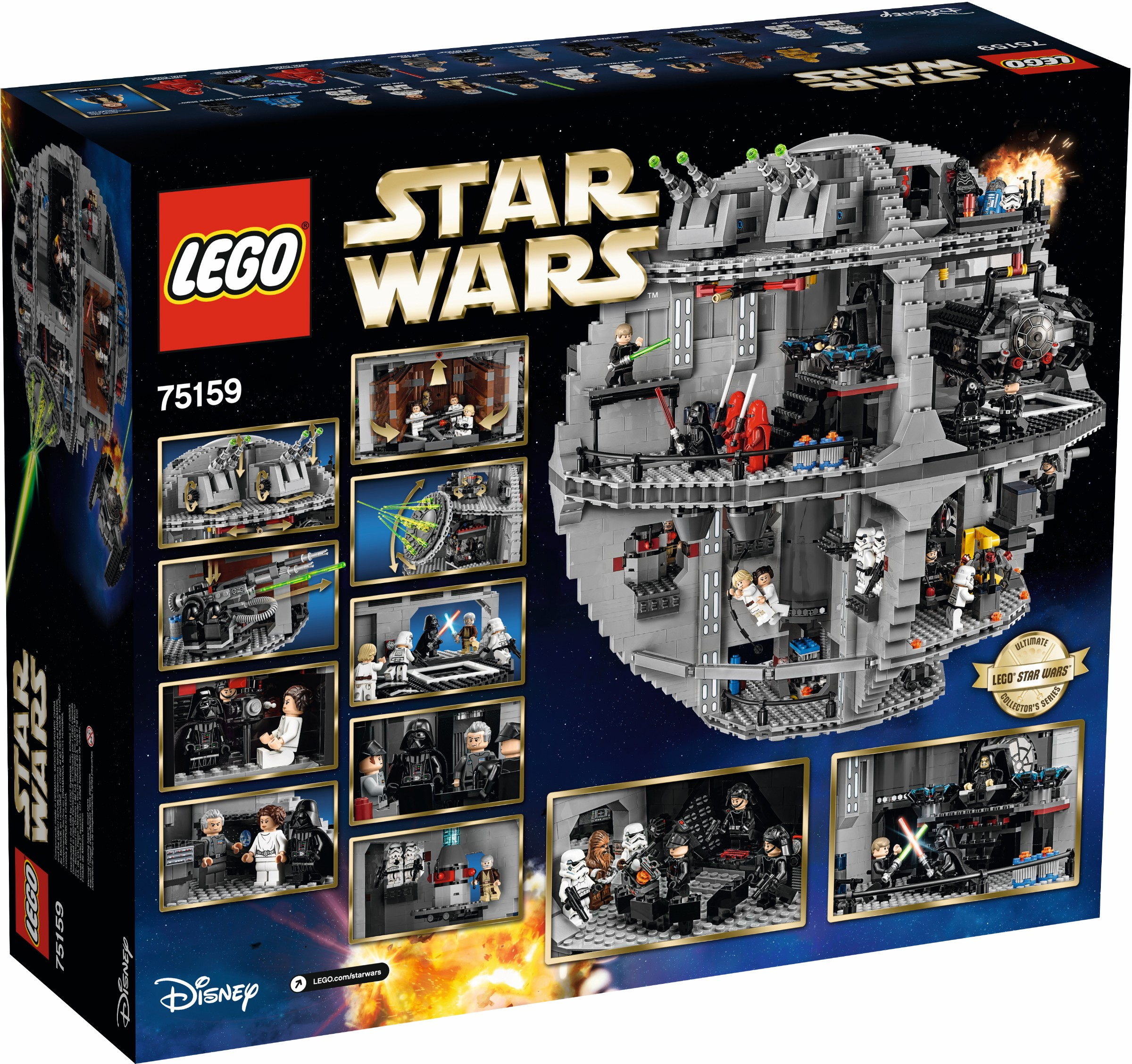 Lego Star Wars 75159 Death Review Brickset Set Guide Defy Stove Wiring Diagram The Graphic Designer Comments On Han Solos New Hair Piece While Niels Mlgrd Frederiksen Refers Directly To His Study Of 10188