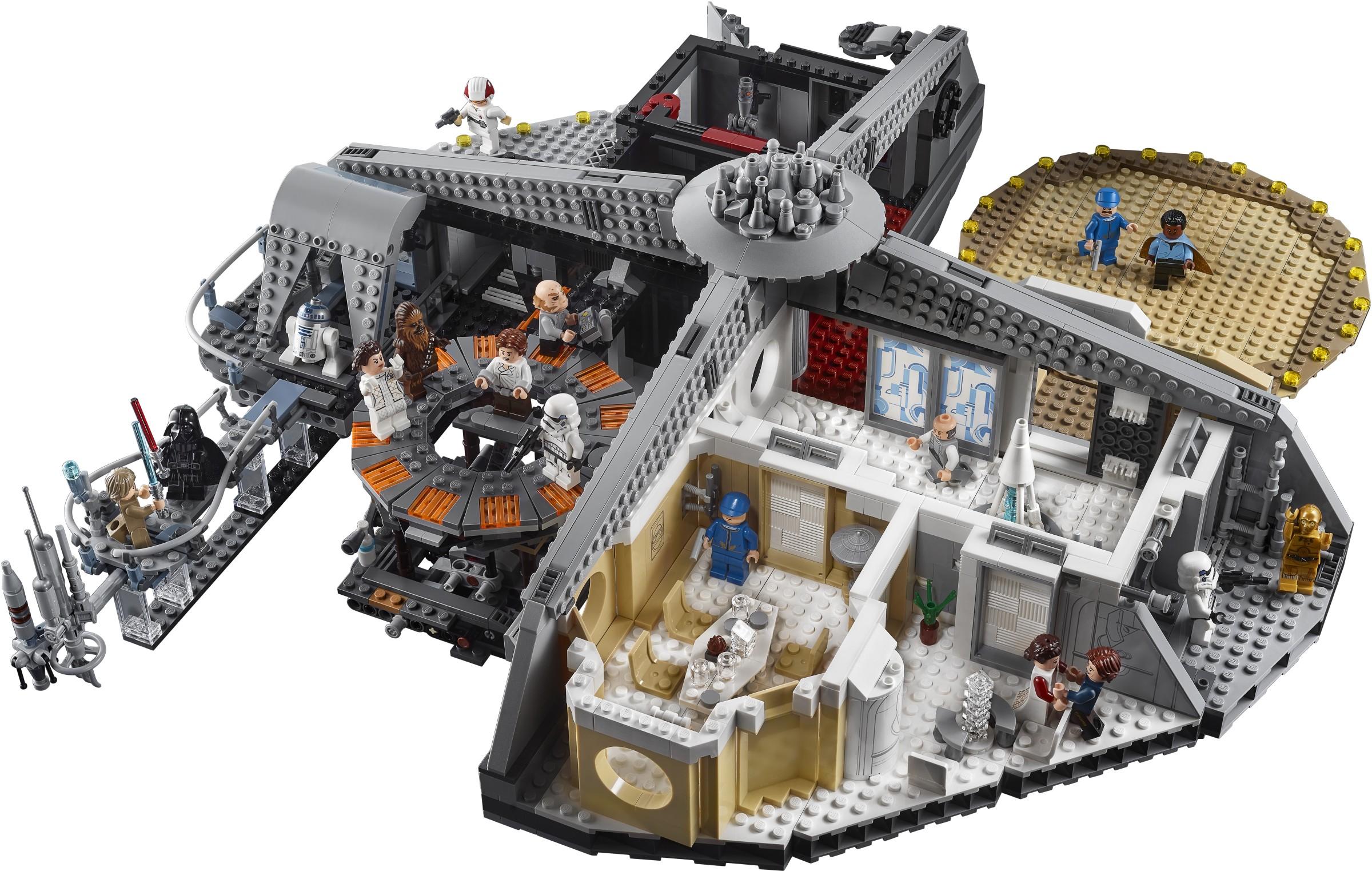 Preview 75222 Betrayal At Cloud City Brickset Lego Set Guide And