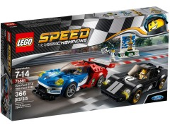 Lego 75881 2016 Ford GT & 1966 Ford GT40 additional image 2
