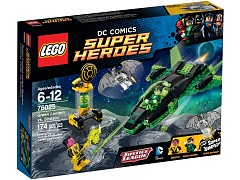 Lego 76025 Green Lantern vs. Sinestro additional image 2