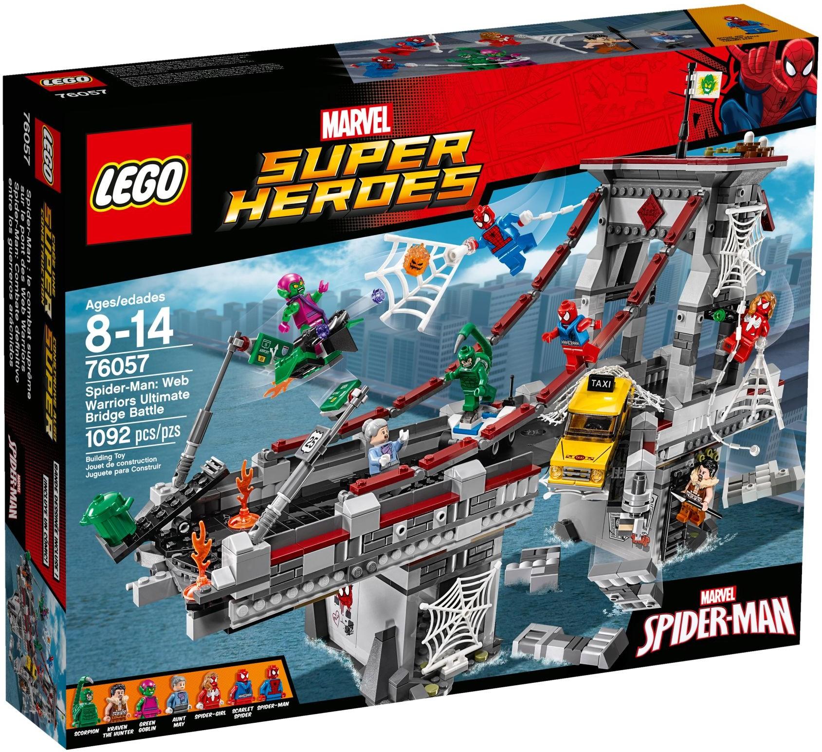 [評價] Lego 76057 Spider-Man: Web Warriors Ultimate Bridge Battle