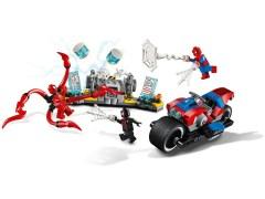 Конструктор LEGO (ЛЕГО) Marvel Super Heroes 76113 Спасательная операция на мотоциклах Spider-Man Bike Rescue
