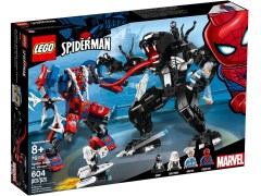 Конструктор LEGO (ЛЕГО) Marvel Super Heroes 76115 Человек-паук против Венома Spider Mech vs. Venom