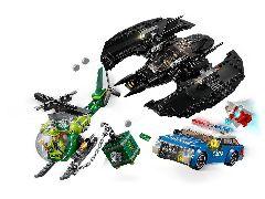 Конструктор LEGO (ЛЕГО) DC Comics Super Heroes 76120 Бэткрыло Бэтмена и ограбление Batwing and The Riddler Heist