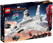 Конструктор LEGO (ЛЕГО) Marvel Super Heroes 76130 Реактивный самолёт Старка и атака дрона Stark Jet and the Drone Attack