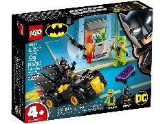 Конструктор LEGO (ЛЕГО) DC Comics Super Heroes 76137 Бэтмен и ограбление Загадочника Batman vs. The Riddler Robbery