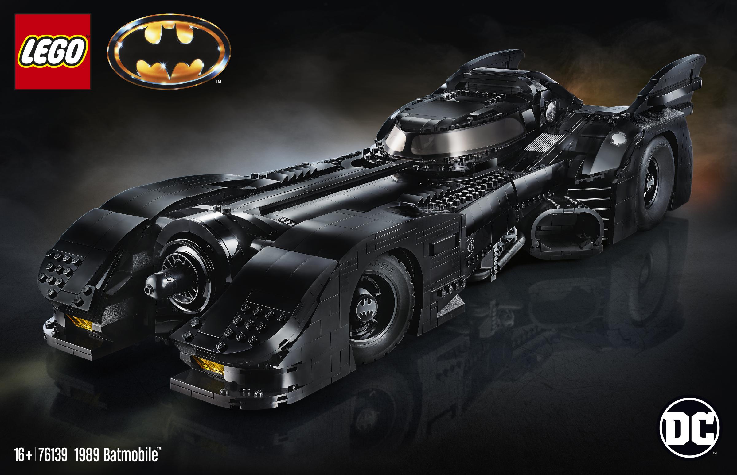 76139 1989 Batmobile box