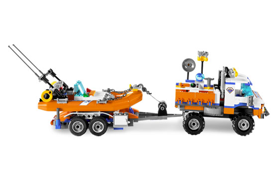 how to make a lego boat trailer
