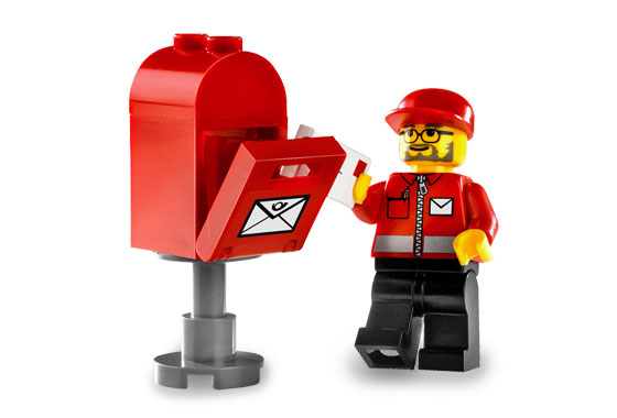 LEGO Mail Truck 6651 - YouTube