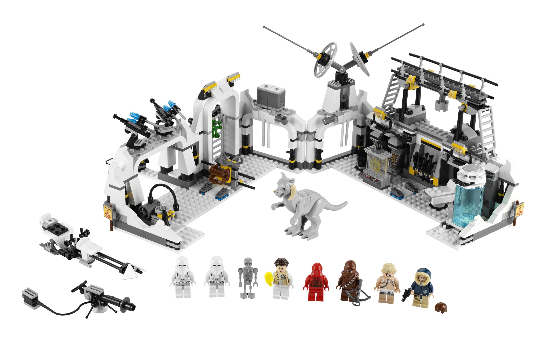 Lego 7879 hoth echo base - Lego star wars base droide ...