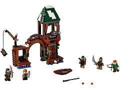 Конструктор LEGO (ЛЕГО) The Hobbit 79016 Атака на Озёрный город Attack on Lake-town