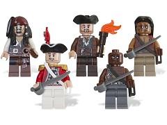Конструктор LEGO (ЛЕГО) Pirates of the Caribbean 853219 Минифигурки Pirates of the Caribbean Battle Pack