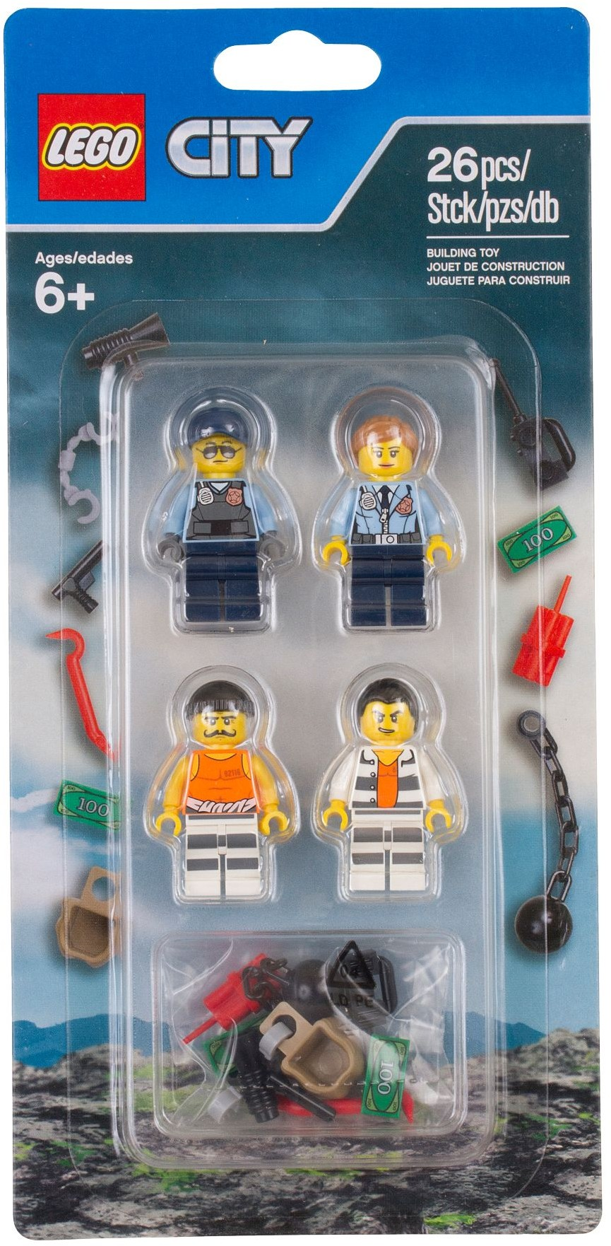 Lego 853570 Police Accessory Set City Prison Island Expand Your Population