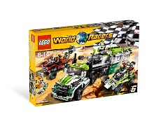 Конструктор LEGO (ЛЕГО) World Racers 8864  Desert of Destruction