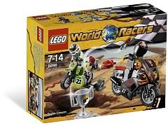 Конструктор LEGO (ЛЕГО) World Racers 8896  Snake Canyon